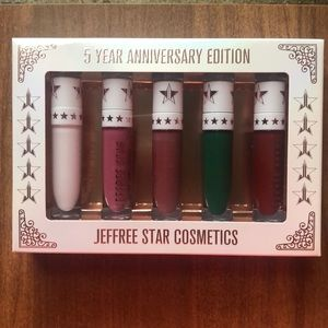 Limited Edition 5 Year Anniversary Liquid Lip Set